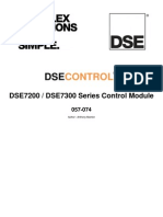 DSE7000 Operation Manual