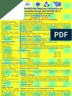 4th RCNRE-Call for Paper 20110519