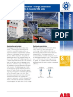 ABB Surge Protection -PV Application