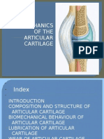 Bio Mechanics of the Articular Cartilage