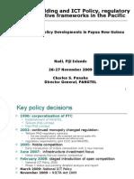 ITU-EU Project PNG Presentation