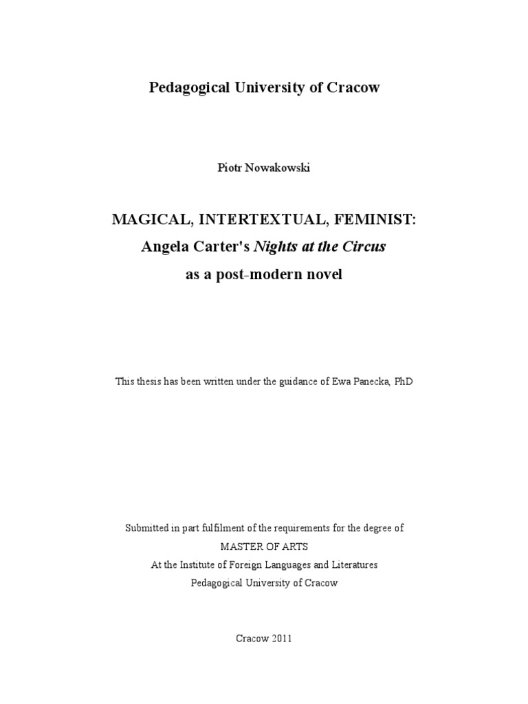phd thesis intertextuality