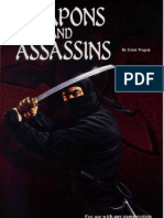 The Palladium Book of Weapons and Assassins-manteshwer