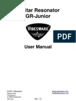 Vibesware GR-Junior Guitar Resonator