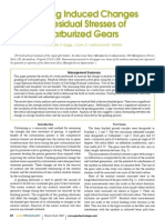 Grinding Induced Changes Residual Stress