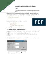 Contoh Membuat Aplikasi Visual Basic Sederhana