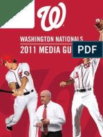 2011 Washington Nationals Media Guide