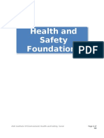 Unit 1 Health & Safety Foundations