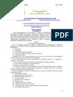 Constituição Federal Atualizada Art. 1° ao 38