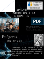 Aportes de Personajes a la Educacion Universal