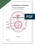 Informe 1 Ensayo de Dureza