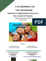 Programa Desarrollo Altas des Curso 2011-2012 (2)