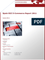 Brochure & Order Form_Spain B2C E-Commerce Report 2011_by yStats.com
