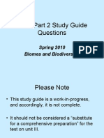 Study Guide the Biosphere 2011