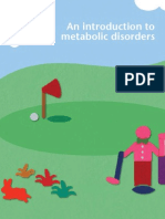 Introduction to Metabolic Disorders