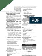Ley 29734 Exige Grado de Doctor Para El Ejercicio Del Cargo de Rector 3 de Julio de 2011