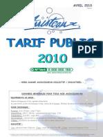 Tarif Public 2010 v3