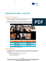 aPLaNet Newsletter July11
