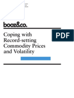 Commodity Prices Volatility Booz & Company
