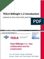 Tekla Webinar_tekla Bimsight
