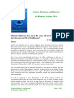 Mineral Deficency e Book