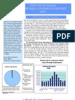 Duxbury Water Report 2011