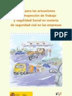 Guía para las actuaciones inspeccion trabajo seguridad vial laboral
