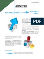 modeFRONTIER, Optimization concept