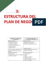 Tema 3 Estructura Del Plan de Negocios