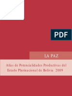 Atlas de potencialidades productivas de La Paz