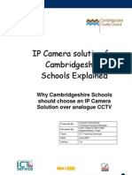 IP Camera Solution for Cambridge Shire Schools