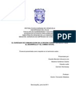 El Egresado de Comunicacion en La Region Caribe