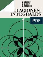 Ecuaciones integrales - Kiseliov, Krasnov, Makarenko