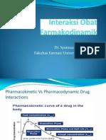 Interaksi Obat Farmakodinamik