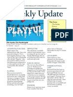Weekly Update 2011.7.7