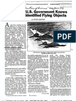 What Gov Knows About Ufos
