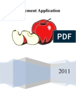Red Apple Application Packet 2011