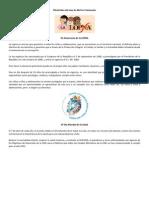 Efemérides del mes de Abril en Venezuela