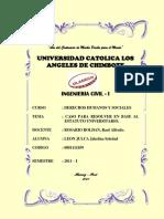 Informe Del Estatuto Universitario