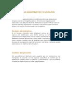 Controles Administrativos y de Aplicacion