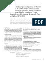 Aplasia Medular-investigacion