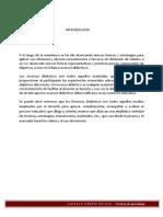 Informe de Recursos Didactcos