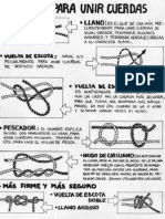 Nudos Para Unir Cuerdas