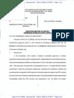 Houston Motion to Certify Permissive Interlocutory Appeal