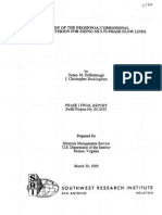A Study of the Erosional Corrosional Velocity Criterion for Sizing Multi-Phase Flow Lines