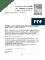 FEUERWERKER 2005 - modelos tecnoassistenciais e gestão do trabalho (2)