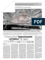 """El futuro de la """"impresionante cortadura"""" de Jagua  (21-07-09)"""