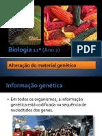 BG 11 - Alteração do material genético
