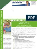 Harhart Summer 2011 Newsletter