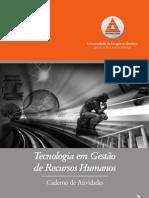 Caderno de Atividades - Tecnologia em Gestão de Recursos Humanos